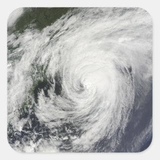 Hurricane Bill over Nova Scotia Square Sticker