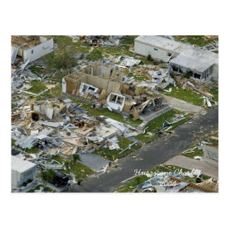 Hurricane Charley 2004 Memorabilia Postcard