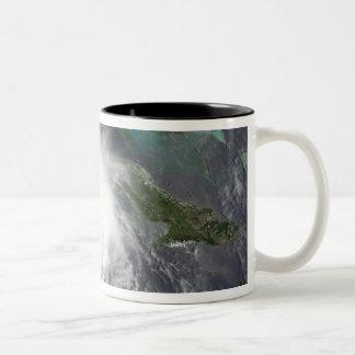 Hurricane Charley 2 Two-Tone Coffee Mug