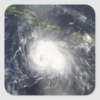 Hurricane Charley Square Sticker
