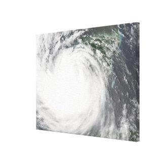 Hurricane Dean Canvas Print