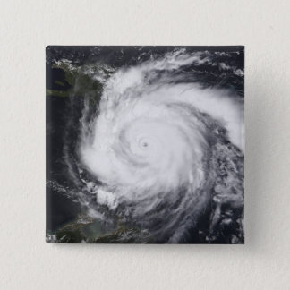 Hurricane Dean in the Atlantic and Carribbean 15 Cm Square Badge