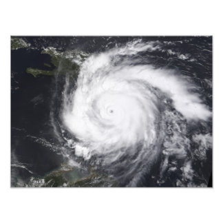 Hurricane Dean in the Atlantic and Carribbean Photo Print