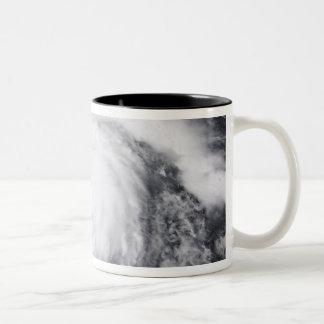 Hurricane Dean in the Atlantic and Carribbean Two-Tone Coffee Mug