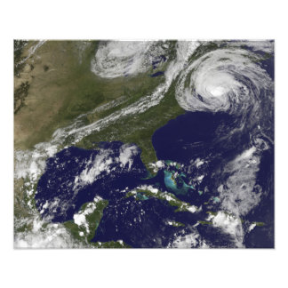 Hurricane Earl Photo Print