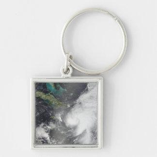 Hurricane Ernesto Keychains