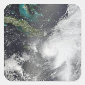 Hurricane Ernesto Square Sticker