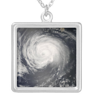 Hurricane Fausto Silver Plated Necklace