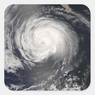 Hurricane Fausto Square Sticker