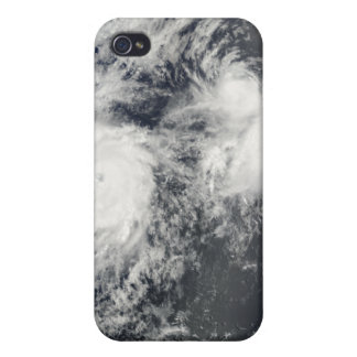 Hurricane Felicia and Storm Enrique east of Haw Cover For iPhone 4