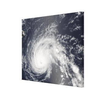 Hurricane Flossie Canvas Print