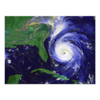 Hurricane Fran Photo Print