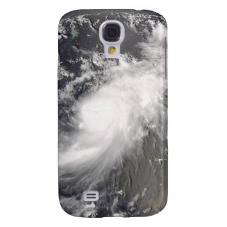 Hurricane Gustav over Hispaniola Galaxy S4 Case
