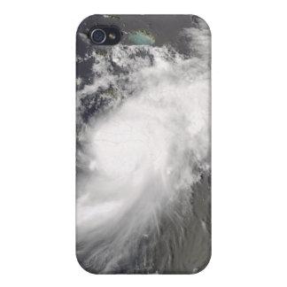 Hurricane Gustav over Hispaniola iPhone 4/4S Covers