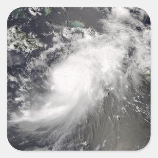 Hurricane Gustav over Hispaniola Square Sticker