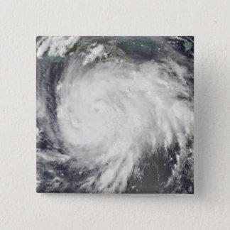Hurricane Gustav over Jamaica 15 Cm Square Badge