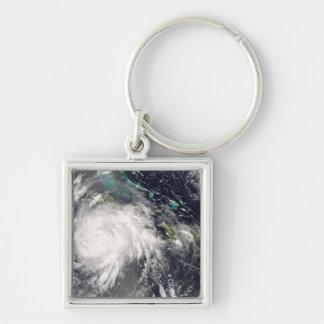 Hurricane Gustav over Jamaica 2 Key Ring
