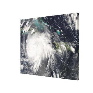 Hurricane Gustav over Jamaica Canvas Print