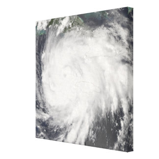 Hurricane Gustav over Jamaica Canvas Print
