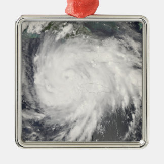 Hurricane Gustav over Jamaica Christmas Ornament