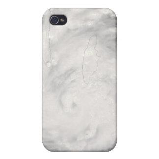 Hurricane Gustav over Jamaica iPhone 4 Covers