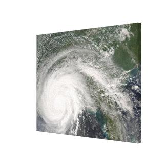 Hurricane Gustav over Louisiana Canvas Print