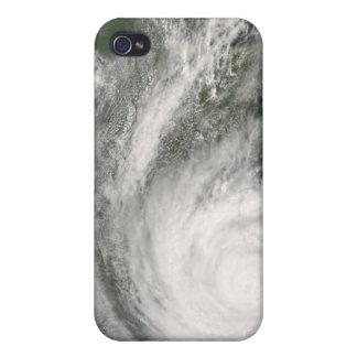 Hurricane Gustav over Louisiana Covers For iPhone 4