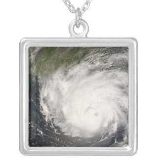 Hurricane Gustav Silver Plated Necklace