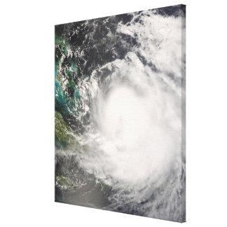 Hurricane Hanna over the Bahamas Canvas Print