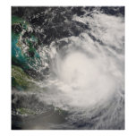 Hurricane Hanna over the Bahamas Poster