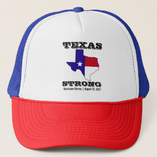 Hurricane Harvey Texas Strong Trucker Hat