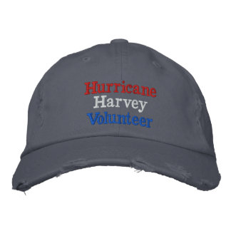 Hurricane Harvey Volunteer Embroidered Hat