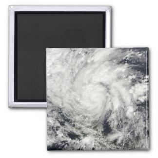 Hurricane Ida over Nicaragua Square Magnet