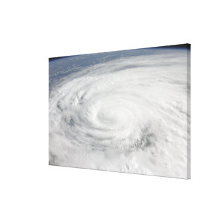 Hurricane Ike 10 Canvas Print