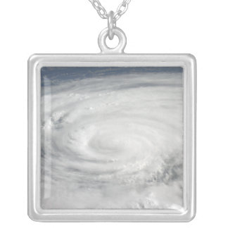 Hurricane Ike 10 Silver Plated Necklace