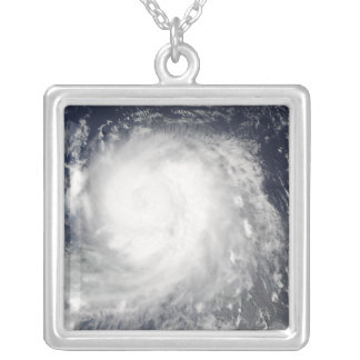 Hurricane Ike 5 Silver Plated Necklace
