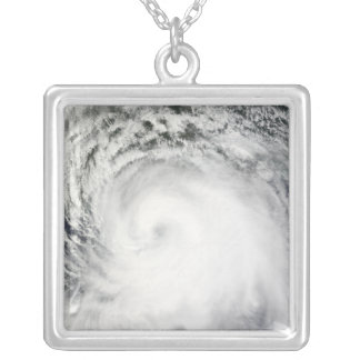 Hurricane Ike 6 Silver Plated Necklace
