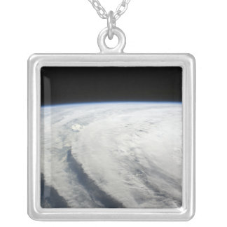 Hurricane Ike 7 Silver Plated Necklace