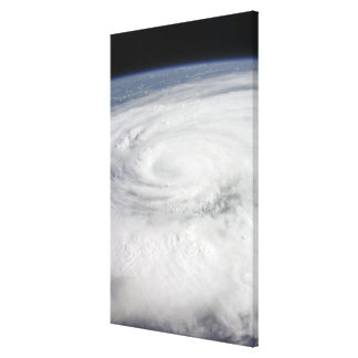 Hurricane Ike Canvas Print