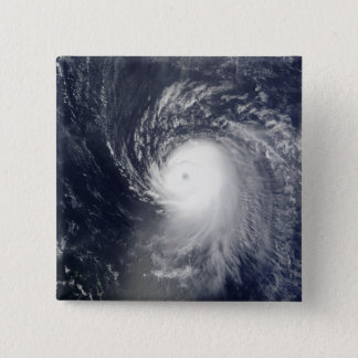 Hurricane Ike off the Lesser Antilles 15 Cm Square Badge