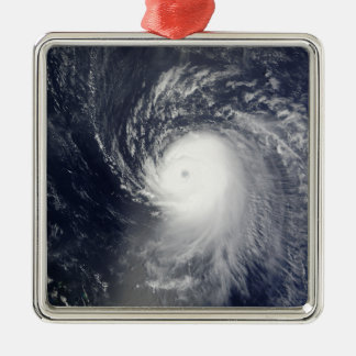 Hurricane Ike off the Lesser Antilles Silver-Colored Square Decoration