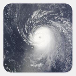 Hurricane Ike off the Lesser Antilles Square Sticker