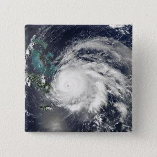 Hurricane Ike over Cuba, Hispaniola 15 Cm Square Badge