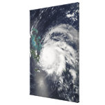 Hurricane Ike over Cuba, Hispaniola Stretched Canvas Print