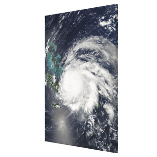 Hurricane Ike over Cuba, Hispaniola Canvas Print