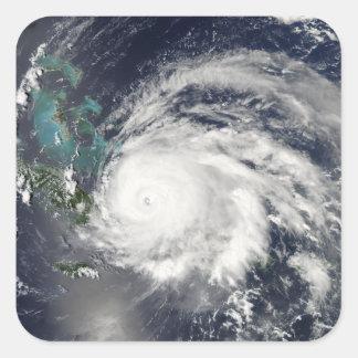 Hurricane Ike over Cuba, Hispaniola Square Sticker