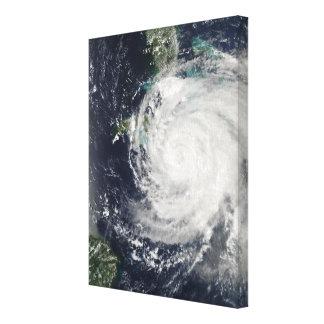 Hurricane Ike over Cuba, Jamaica, and the Baham Canvas Print