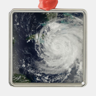 Hurricane Ike over Cuba, Jamaica, and the Baham Silver-Colored Square Decoration