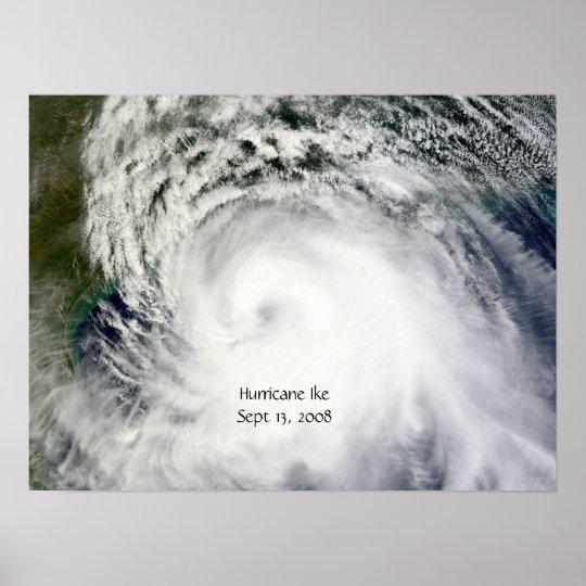 Hurricane Ike (Sept 13, 2008) Poster