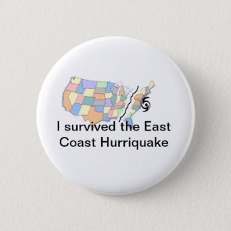 Hurricane Irene 6 Cm Round Badge